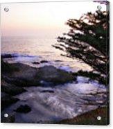 Carmel Highlands Sunset 2 Acrylic Print