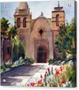 Carmel Mission Basilica Acrylic Print