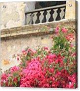 Carmel Mission Bell Acrylic Print