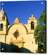 Carmel Mission Acrylic Print