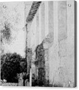 Carmel Mission Cemetery Acrylic Print