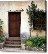 Carmel Mission Door Acrylic Print