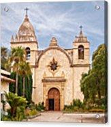 Carmel Mission San Carlos Borromeo Acrylic Print