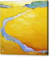 Carmel River Acrylic Print