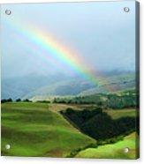 Carmel Valley Rainbow Acrylic Print