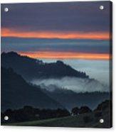 Carmel Valley Sunset Acrylic Print