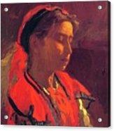 Carmelita Requena 1870 Acrylic Print