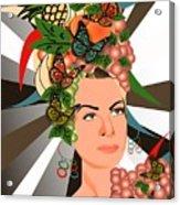 Carmen Miranda Acrylic Print