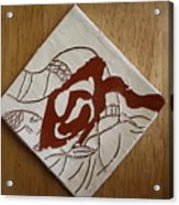 Carmen- Tile Acrylic Print