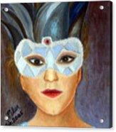 Carnaval Acrylic Print by Pilar  Martinez-Byrne