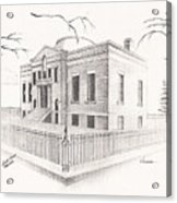 Carnegie Library Mitchell South Dakota Acrylic Print