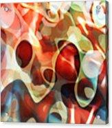 Carnevale Illusion Acrylic Print