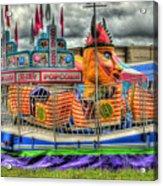 Carnival At Crocker Park Acrylic Print