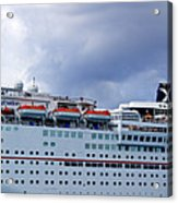 Carnival Cruise Ship Acrylic Print