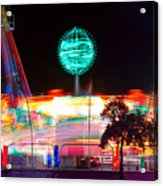 Carnival Excitement Acrylic Print