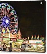 carnival Fun and Food Acrylic Print