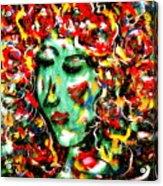 Carnival Girl Acrylic Print
