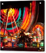 Carnival In Motion Acrylic Print