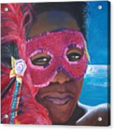 Carnival Mask 1 Acrylic Print