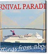 Carnival Paradise Custom Pc One Acrylic Print