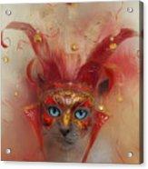 Carnival Queen Acrylic Print