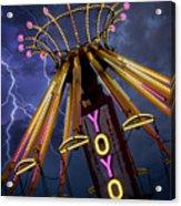 Carnival Ride Acrylic Print