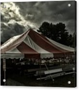 Carnival Tents Acrylic Print