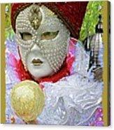Carnivale Mask #10 Acrylic Print