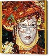Carnivale Mask #12 Acrylic Print