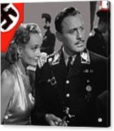Carole Lombard Jack Benny To Be Or Not To Be 1942-2015 Acrylic Print
