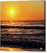 Carolina Beach Sunrise Acrylic Print