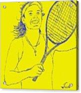 Caroline Wozniacki Acrylic Print