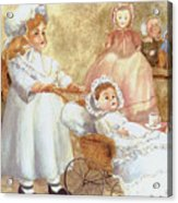 Caroline's Dolls Acrylic Print