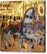 Carosel Horse Acrylic Print