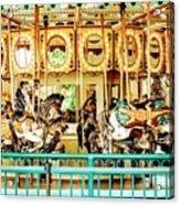 Carousel - Como Zoo, St. Paul, Minnesota Acrylic Print