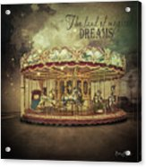 Carousel Dreams Acrylic Print