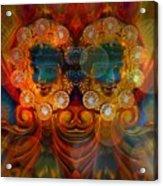 Carousel Faces, Twins Acrylic Print