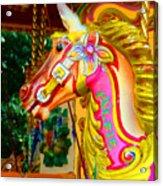 Carousel Horse London Alfie England Acrylic Print