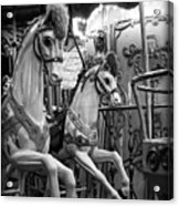 Carousel Horses No. 1 Acrylic Print