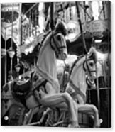 Carousel Horses No.2 Acrylic Print