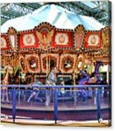 Carousel Inside The Mall Acrylic Print