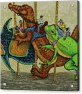 Carousel Kids 3 Acrylic Print