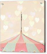 Carousel Tent Acrylic Print