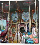 Carousel With Mirrors Acrylic Print