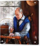 Carpenter - The Woodturner Acrylic Print