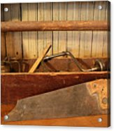 Carpenter's Toolbox - Not Free Do Not Copy Acrylic Print