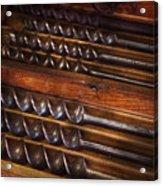 Carpentry - Tool - Archimedes Little Helper  Acrylic Print