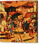 Carpet 2 Acrylic Print by Chaza Abou El Khair
