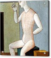 Carra: Idol, 1917 Acrylic Print