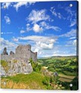 Carreg Cennen Castle 1 Acrylic Print